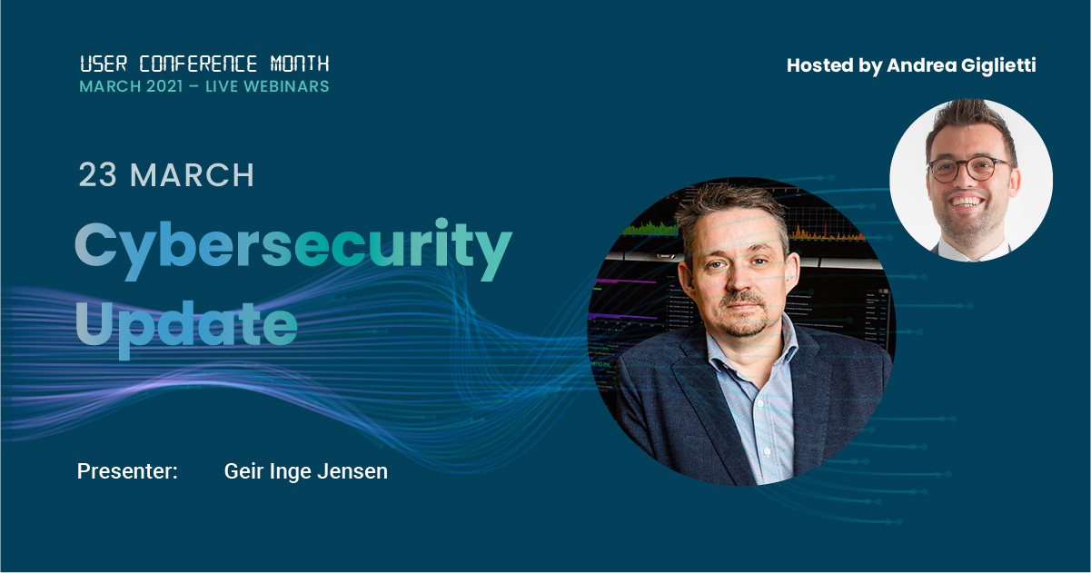 Dualog User Conference - 23 March - Cybersecurity